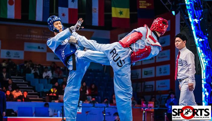ข้อดีจากนักกีฬาชุดเดิม เทควันโด คว้าตั๋วแข่งขันTokyo 2020 askslavia.com ต่อสู้