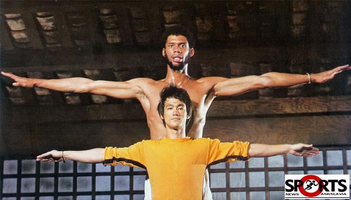"""ตำนาน NBA """"อับดุล - จาบาร์""""เผยได้เรียนรู้หลายอย่างจาก""""บรู๊ซ ลี"""""""