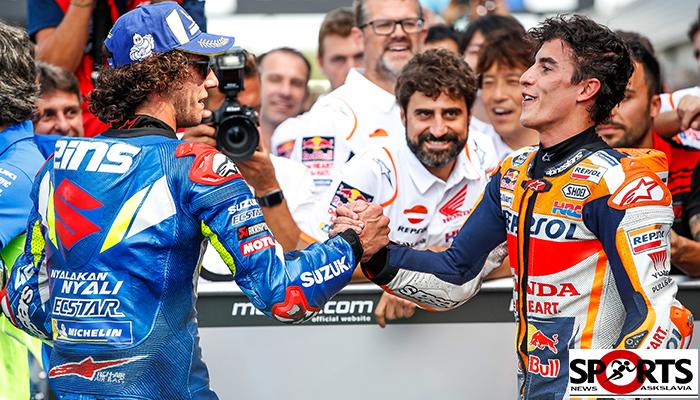 """ทีมแพทย์โมโตจีพี อนุญาต""""อเล็กซ์รินส์""""เข้าแข่งขันสนามที่2 askslavia.com MotoGP"""