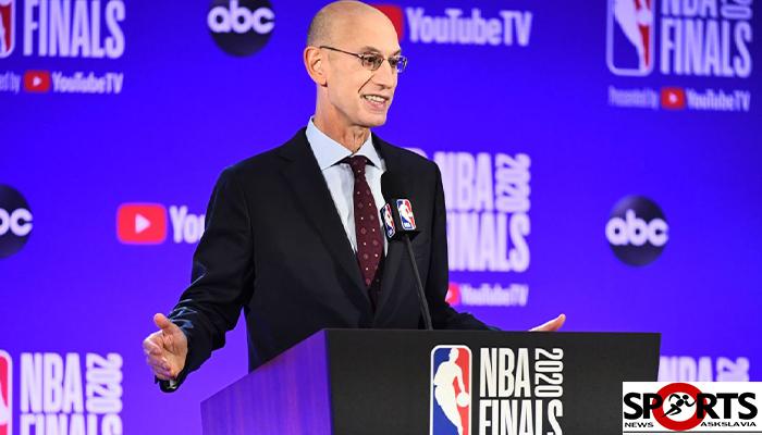 """ประธานบาส NBA """"อดัม ซิลเวอร์""""ปรับแผนพร้อมเปิดลีกต้นปี 2021 askslavia.com บาสเกตบอล"""