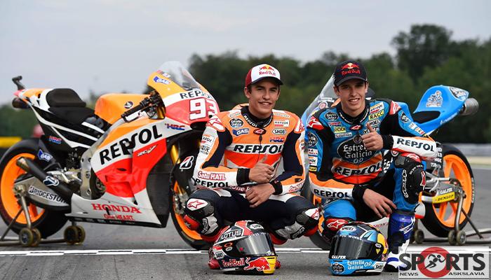 มาร์คและอเล็กซ์ มาร์เกวซ 2 พี่น้องนักซิ่งแห่งวงการโมโตจีพี askslavia.com MotoGP