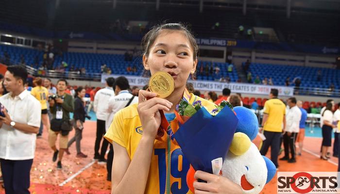 """ชัชชุอร โมกศรี """"บุ๋มบิ๋ม""""ตั้งเป้าพาตบสาวไทยไปโอลิมปิก2024 askslavia.comวอลเลย์บอล"""