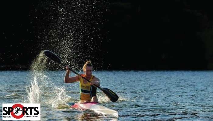 นักกีฬาพายเรือคายัค ออสเตรเลีย ฝึกในแม่น้ำที่มีฉลาม