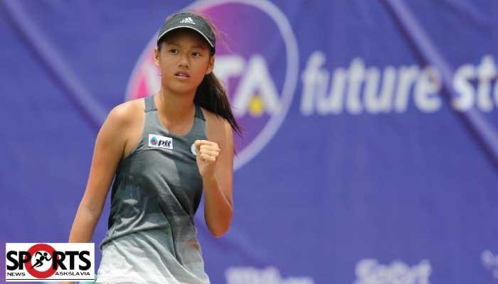 แพตตี้ นักเทนนิสสาวดาวรุ่งไทย โชว์ฟอร์ม ยุโรป