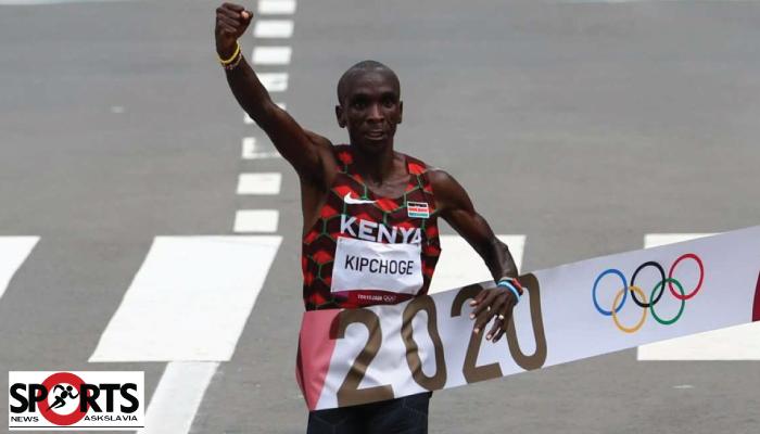 เอเลียด คิปโชเก้ ชาวเคนยา คว้าแชมป์มาราธอนโอลิมปิก